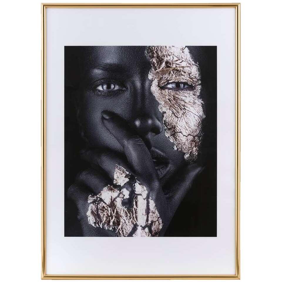 Cadre de photo Easy Frame - couleur d'or - 50x70 cm