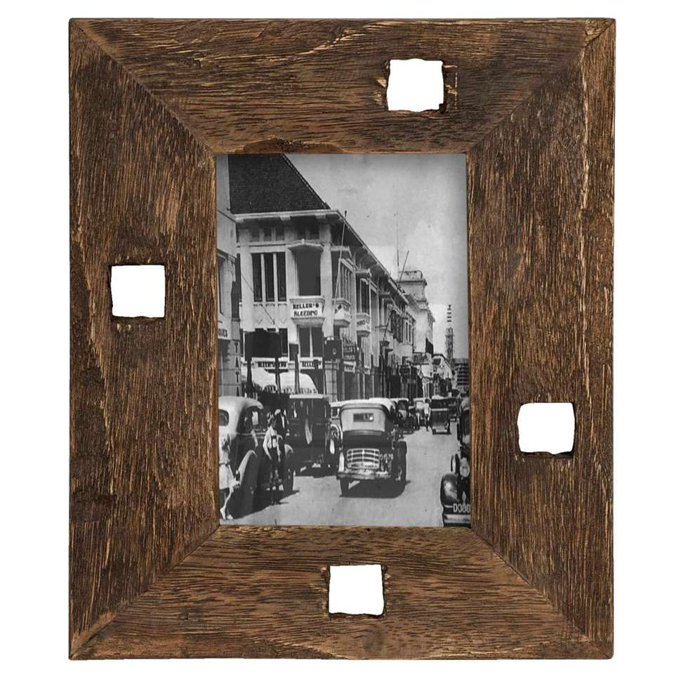 Fotolijst Hein - recycled hout - 26x22x2 cm