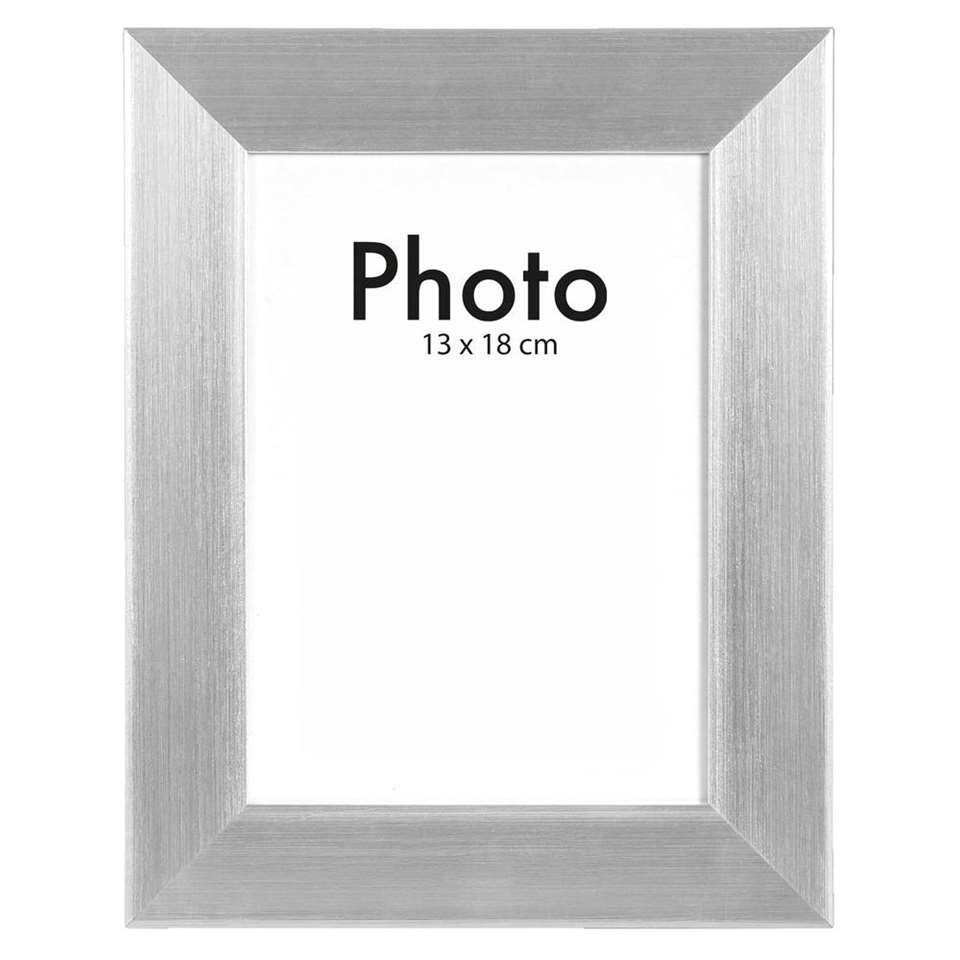 Fotolijst 100 X 50.Fotolijst Utrecht Zilver 13x18 Cm