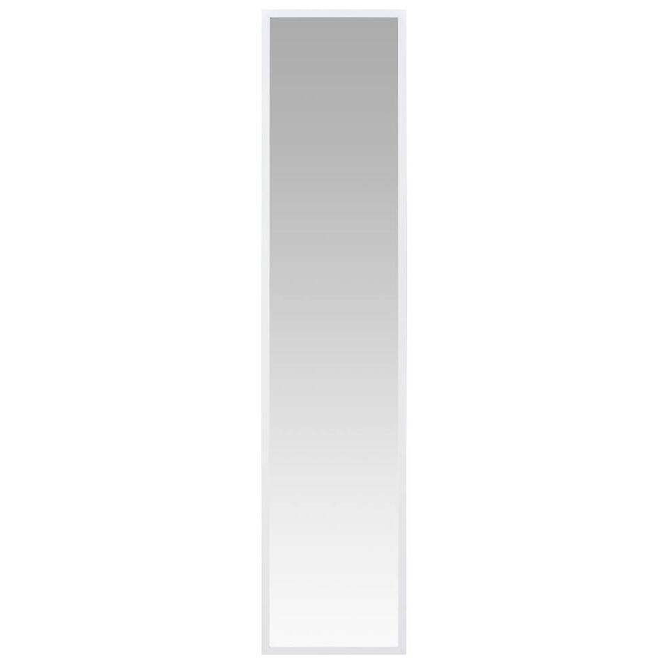 Miroir Nancy - blanc - 33,5x150 cm