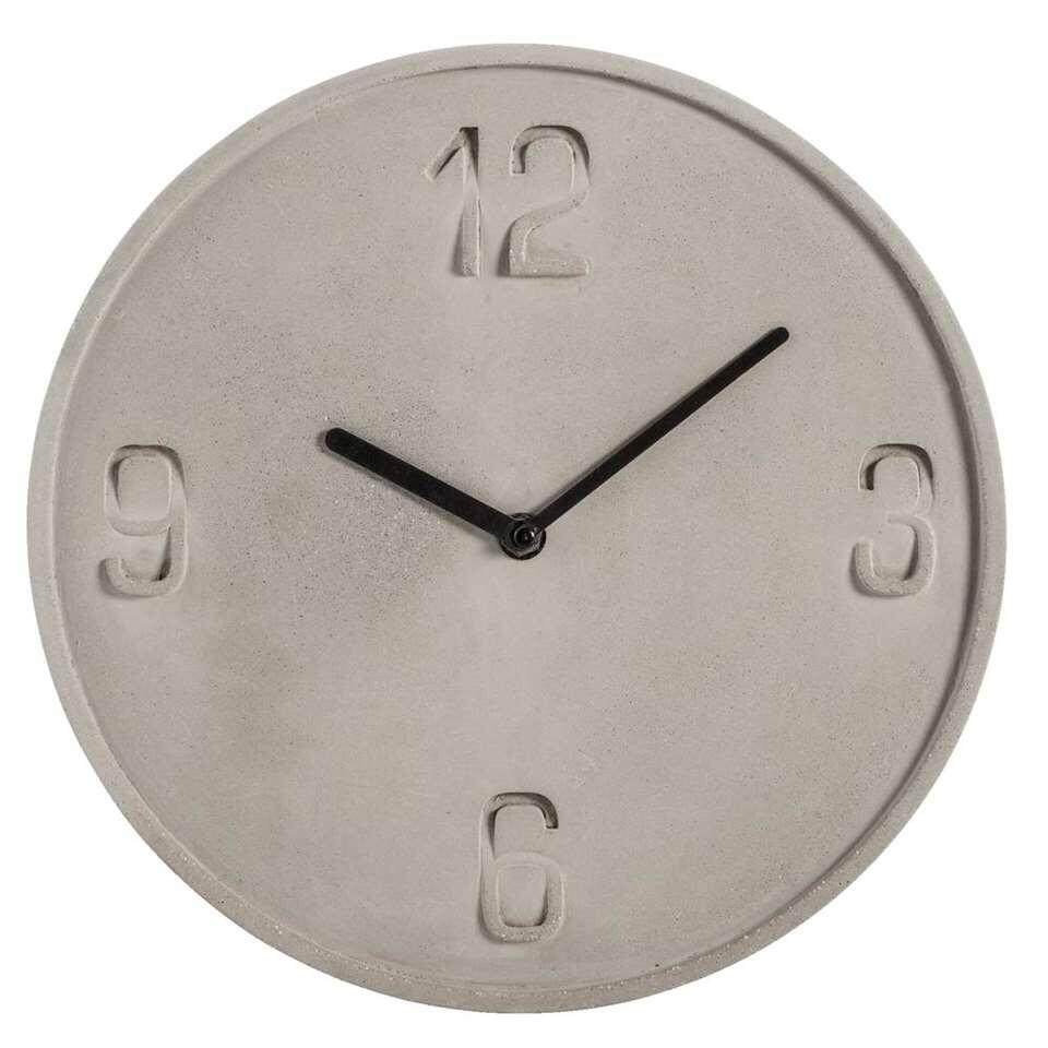 Horloge murale hamura grise for Horloge grise