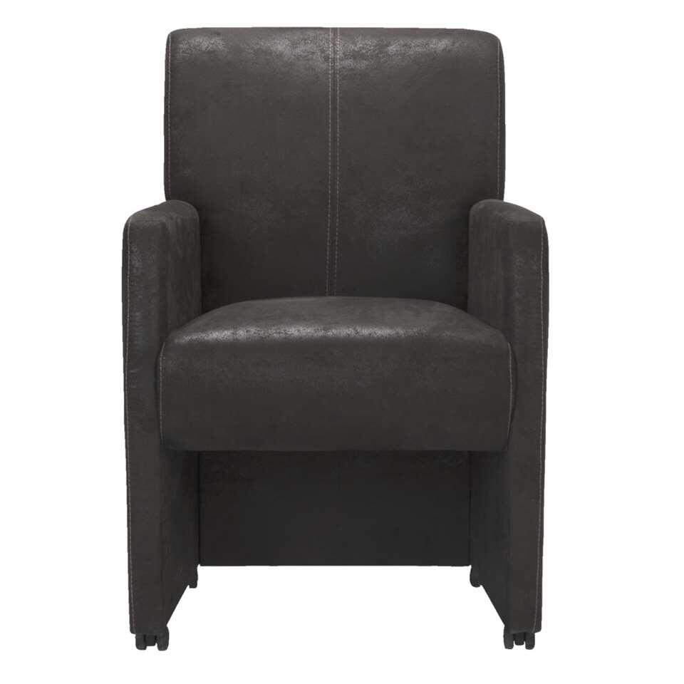 Chaise Mendoza - anthracite 2