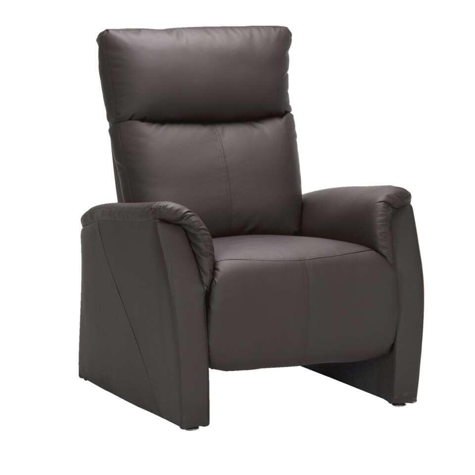Fauteuil relax Clementi - marron