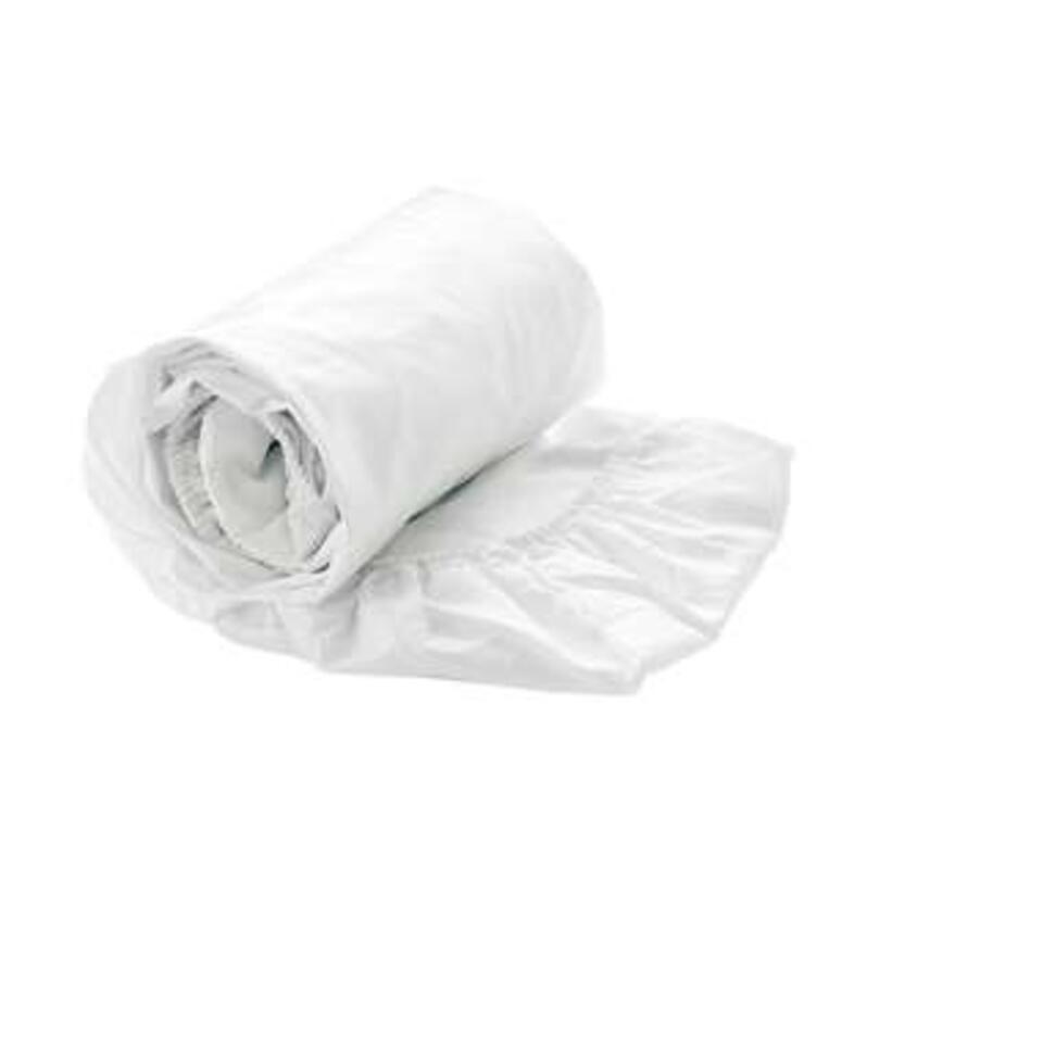 Lekker zacht hoeslaken van 100% katoen. Het hoeslaken is geschikt voor matrassen van 140x200 cm tot een dikte van 35 cm