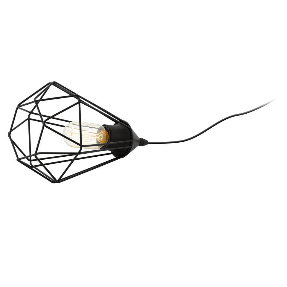 EGLO lampe de table Tarbes est une lampe branchée au design spécial. On peut utiliser cette lampe partout dans la maison. Recupel inclus.
