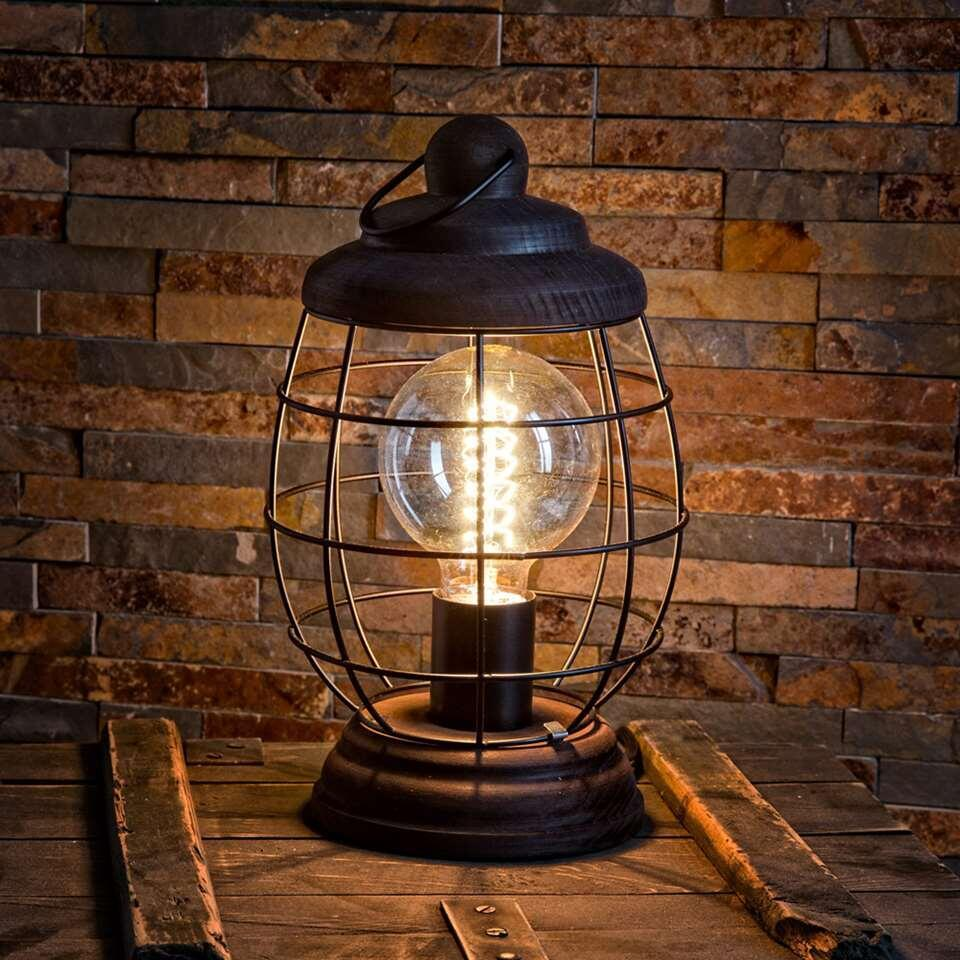 EGLO lampe de table Bampton - marron