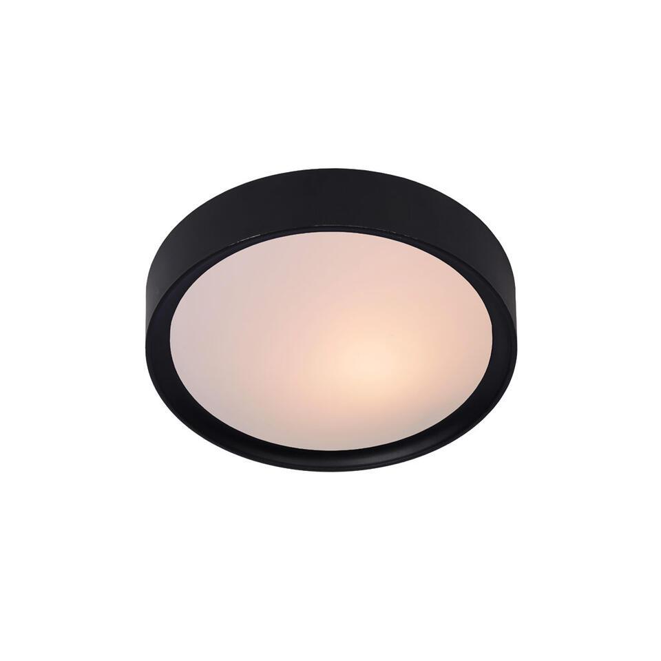 Lucide plafondlamp Lex - 25 cm - zwart