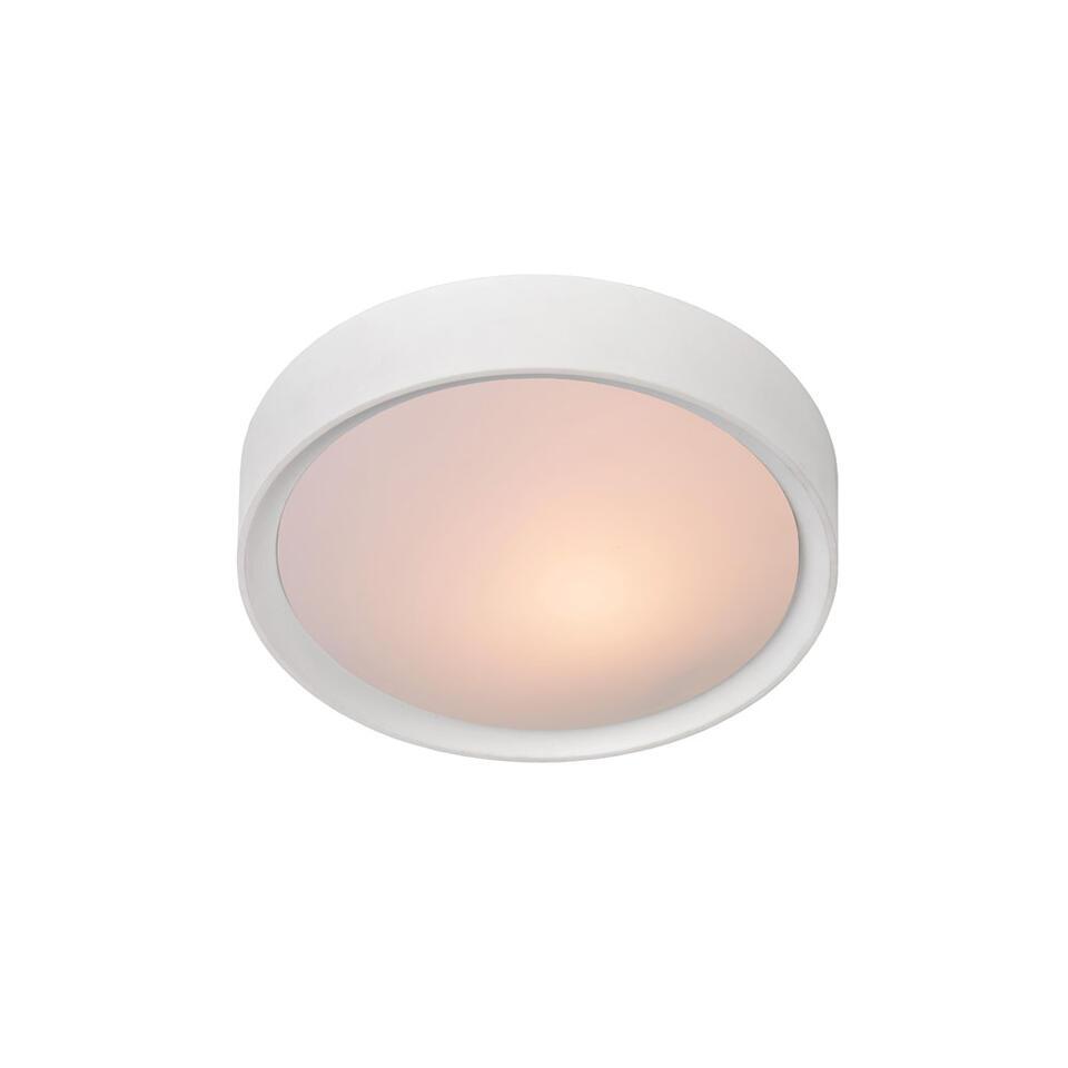 Lucide plafondlamp Lex - 25 cm - wit