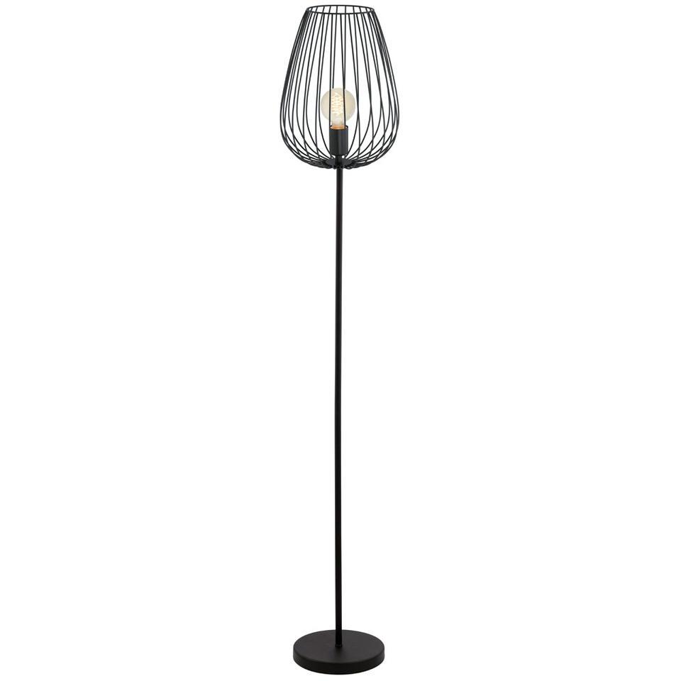 EGLO vloerlamp Newtown - zwart