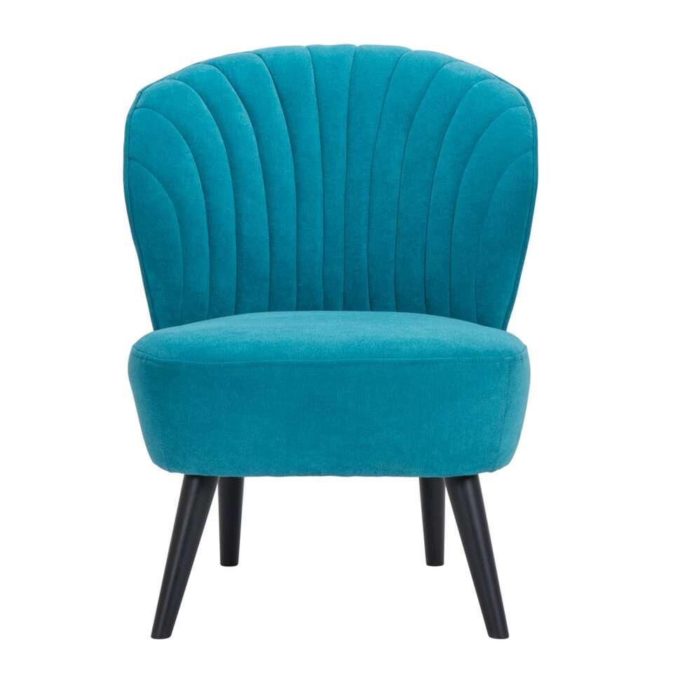 Fauteuil Ventura - stof - turquoise