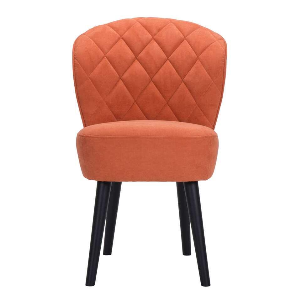 chaise vita orange