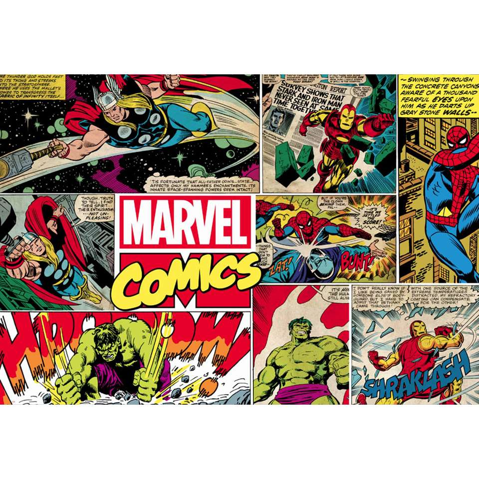 Graham & Brown papier peint digital Marvel   276x190 cm