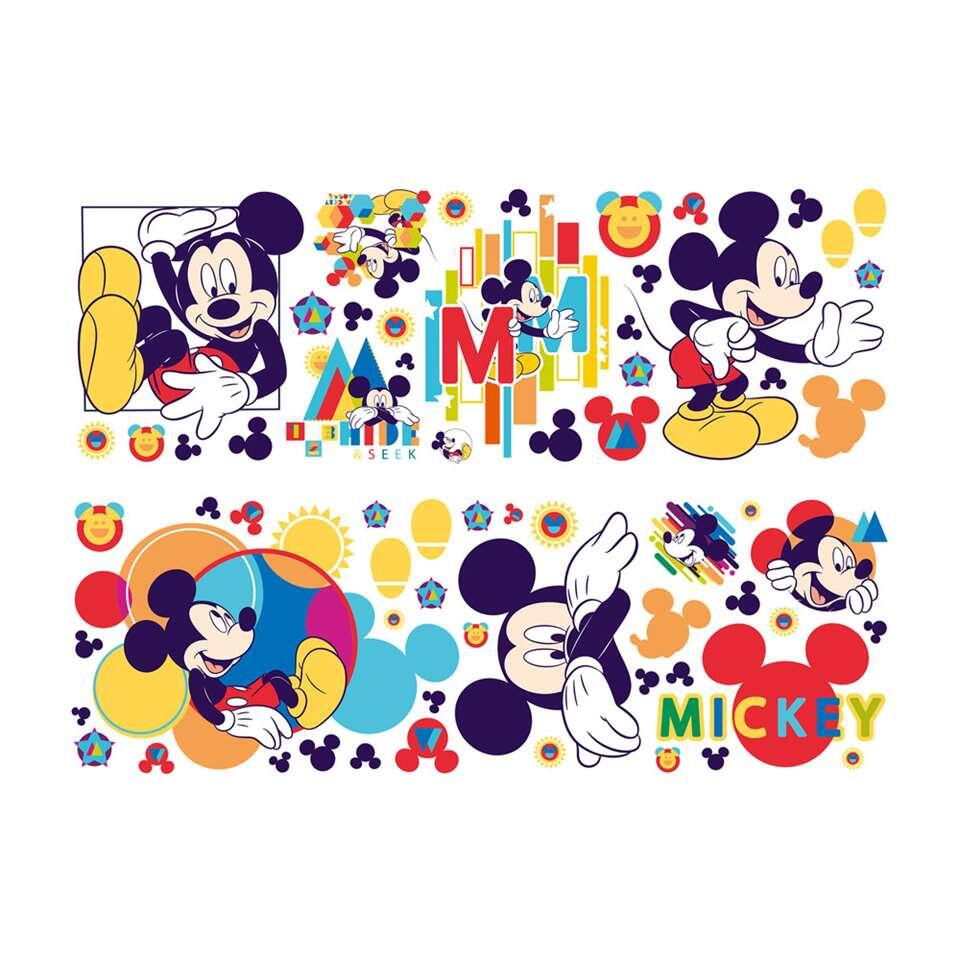 Mickey Mouse Muursticker.Graham Brown Muurstickers Mickey Mouse 1 Vel