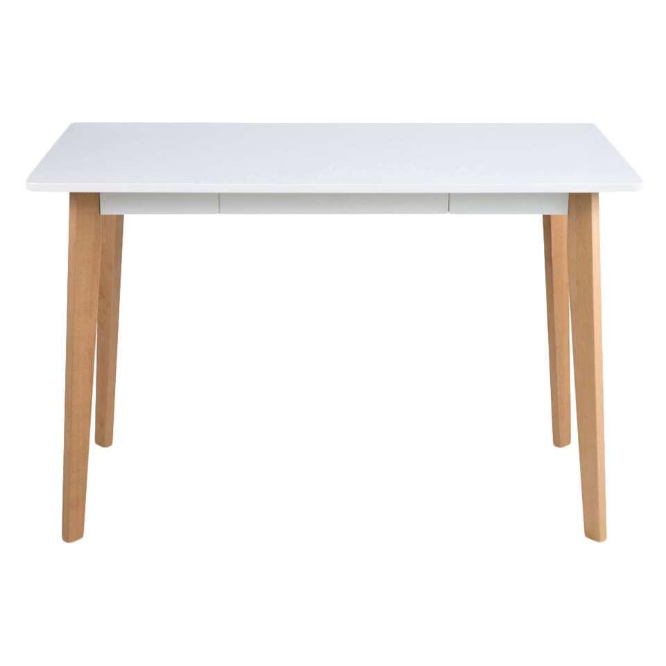 Ben je op zoek naar een bureau met een modern uiterlijk wat niet zo specifiek aanwezig is in de ruimte maar voornamelijk mooi staat? Ga dan voor bureau Aalborg.