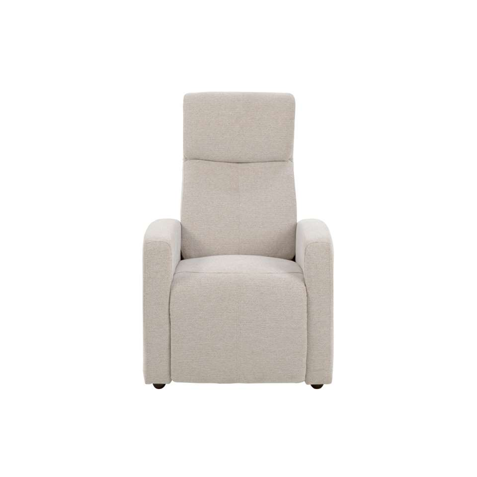 Relaxfauteuil Olsted - stof - zand