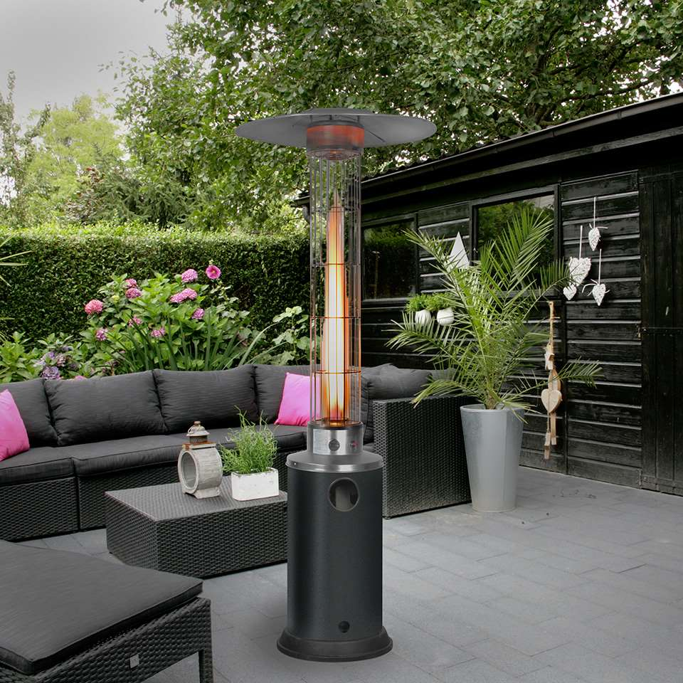 eurom chauffage de terrasse flameheater. Black Bedroom Furniture Sets. Home Design Ideas