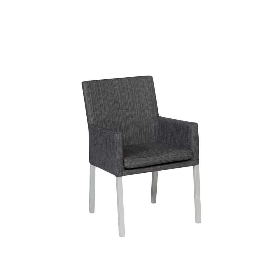 Exotan dining stoelen Ibiza - zwart (2 stuks) - Leen Bakker