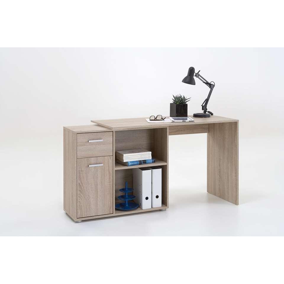 bureau d'angle albrecht - couleur chêne