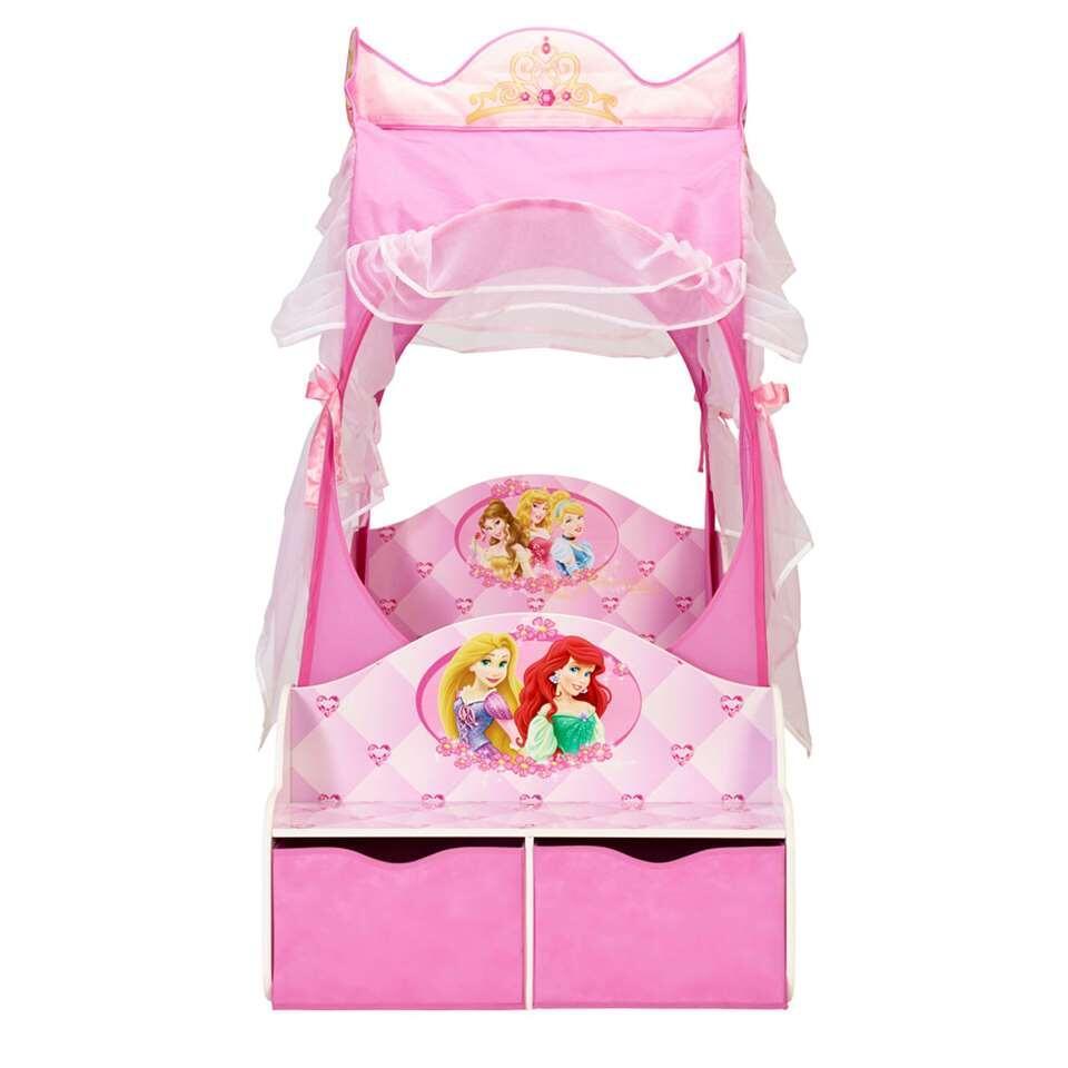 Lit Carrosse Princesse Disney Rose 157x85x171 Cm