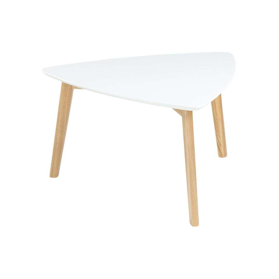 Table d'appoint Lamego - blanche - 80x80 cm