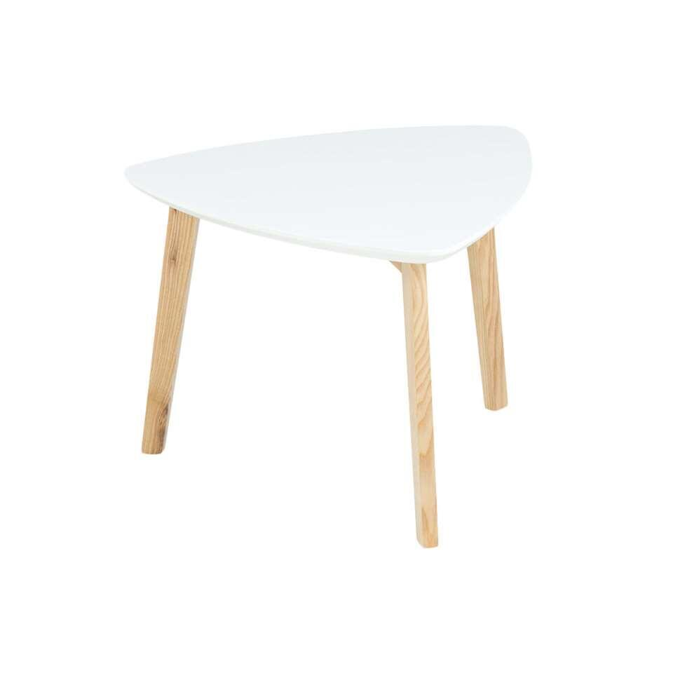 Table d'appoint Lamego - blanc - 50x50 cm