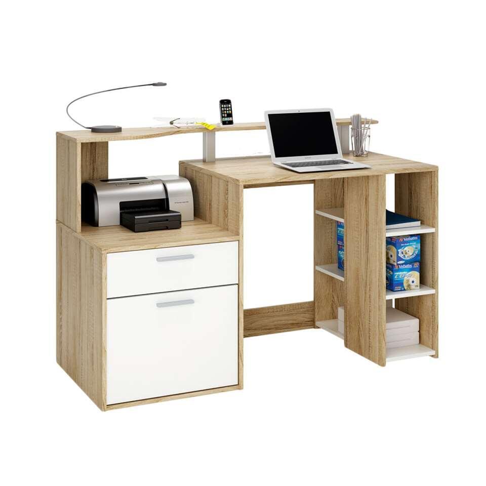 demeyere bureau oracle couleur ch ne blanc. Black Bedroom Furniture Sets. Home Design Ideas