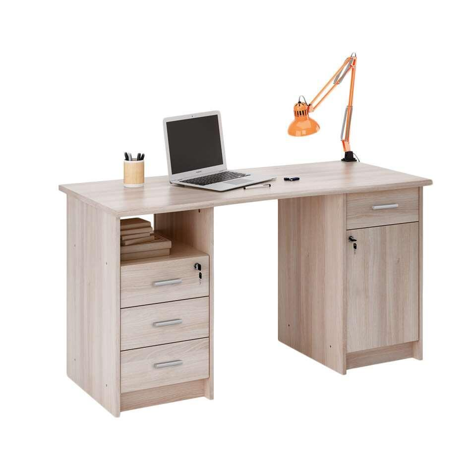 demeyere bureau monaco couleur ch ne clair. Black Bedroom Furniture Sets. Home Design Ideas