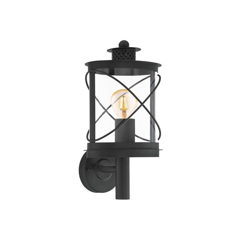 EGLO applique Hilburn en haut - noire