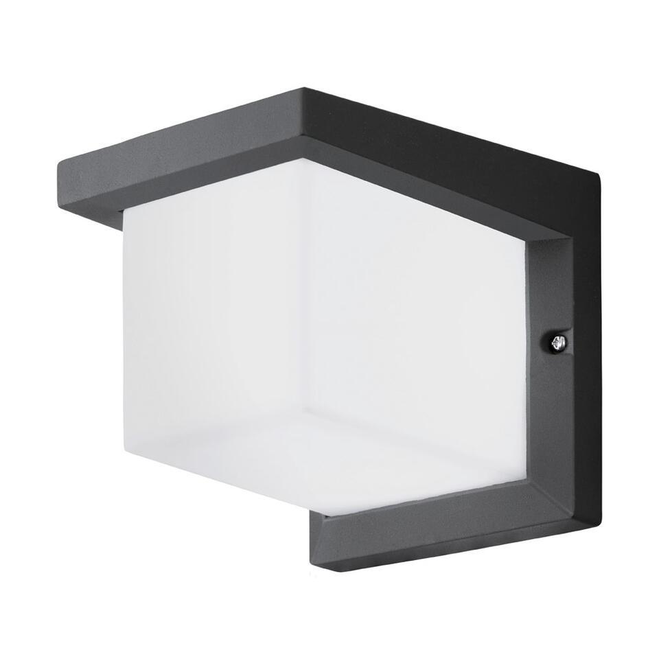 EGLO applique à LEDs Desella carré - anthracite