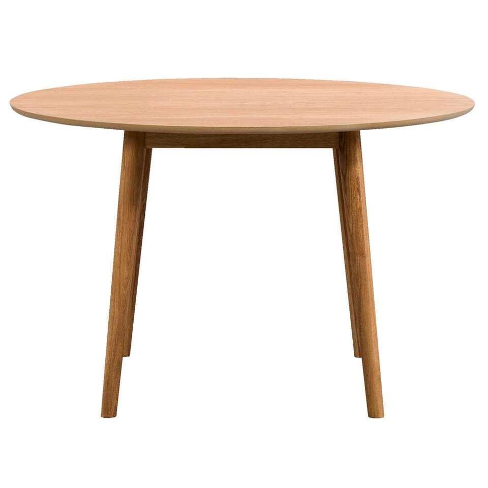 Table Ulfborg ronde - couleur chêne clair