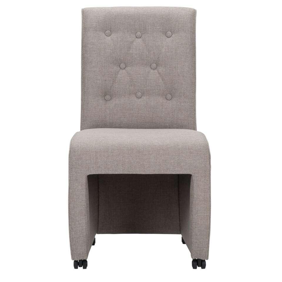 Chaise de salle manger hidde beige - Chaise beige salle a manger ...