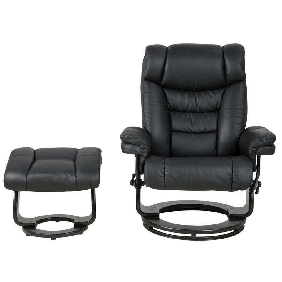 fauteuil relax kodal noir. Black Bedroom Furniture Sets. Home Design Ideas