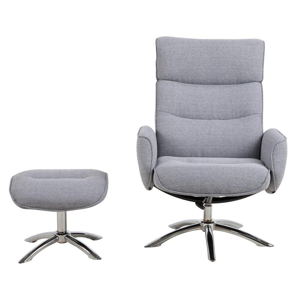 Fauteuil relax Moland est un fauteuil moderne pour se relaxer agréablement. Avec repose-pied.