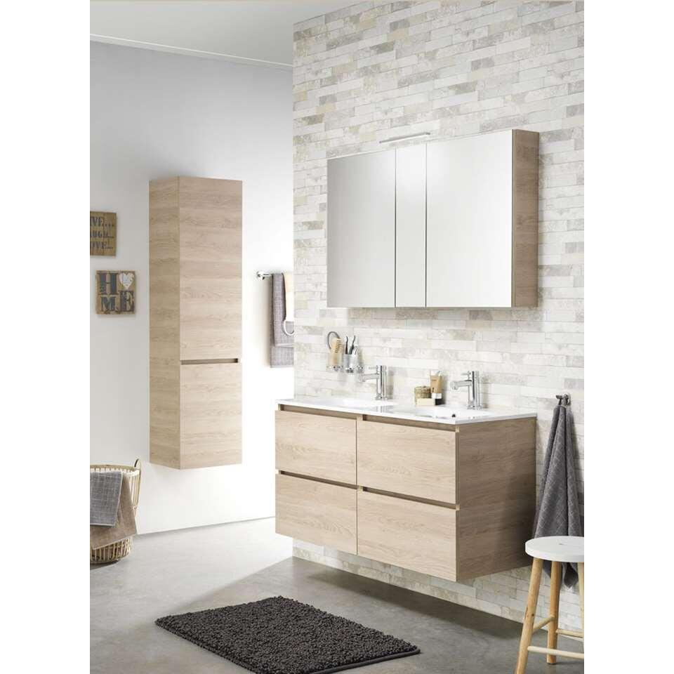 tiger meuble de salle de bains loft ch ne blanc naturel 80 cm. Black Bedroom Furniture Sets. Home Design Ideas