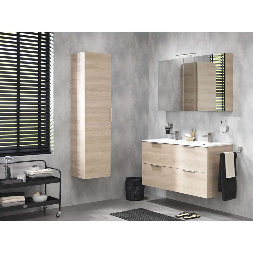 tiger meuble de salle de bains studio ch ne naturel 60 cm. Black Bedroom Furniture Sets. Home Design Ideas
