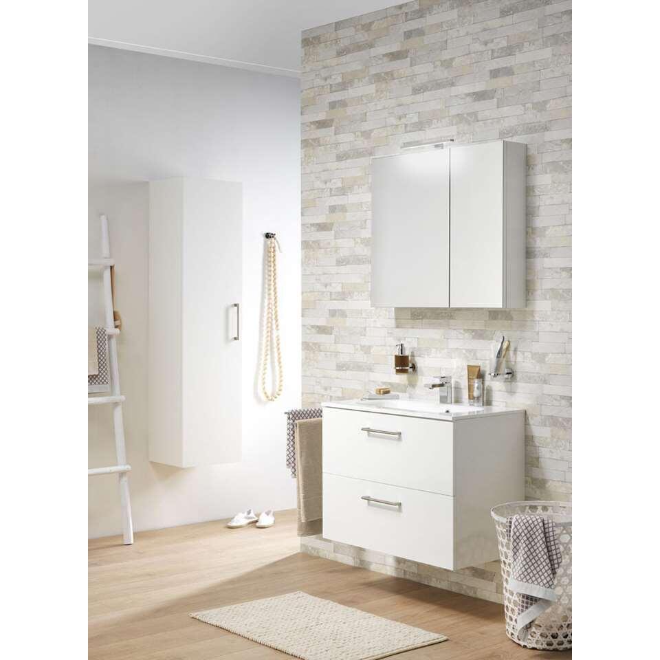 tiger meuble de salle de bains studio brillant blanc 60 cm. Black Bedroom Furniture Sets. Home Design Ideas