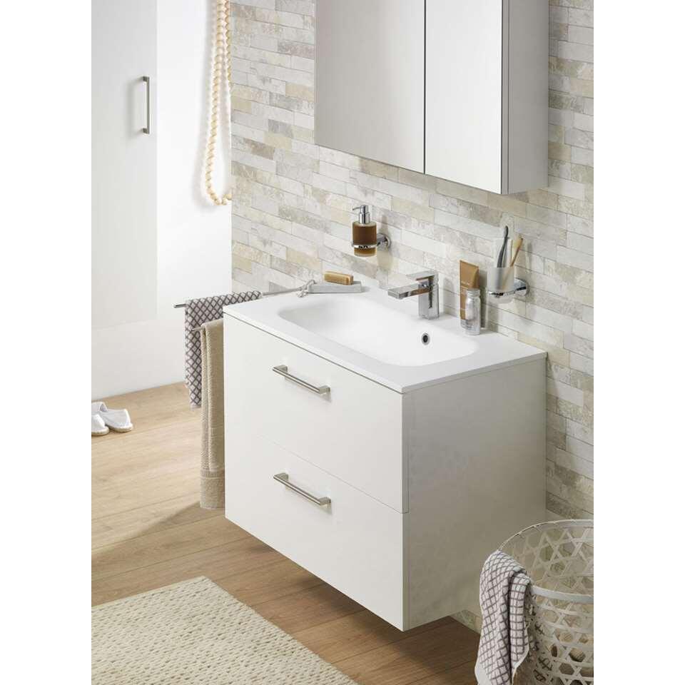 tiger meuble de salle de bains studio brillant blanc 80 cm. Black Bedroom Furniture Sets. Home Design Ideas