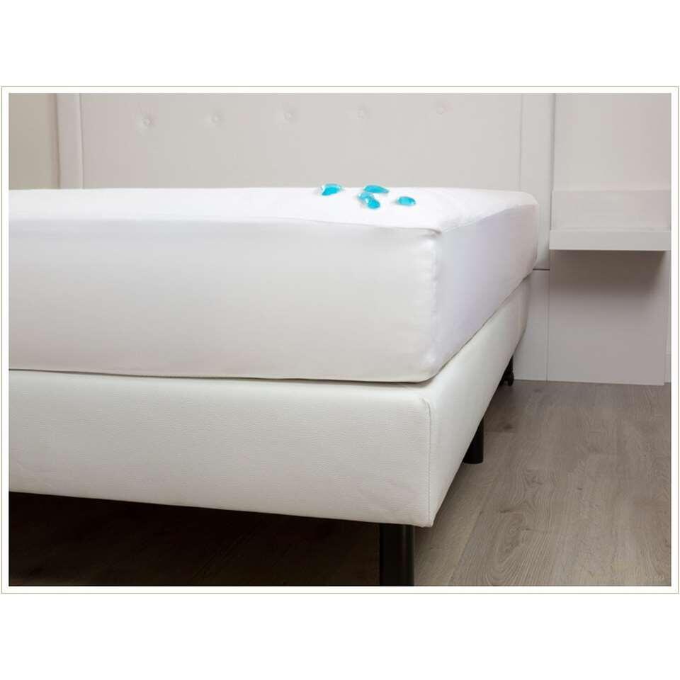 Le Heckett & Lane Living molleton est un drap-housse fabriqué de 100% coton. Le molleton a un poids de 220 grammes/m, ce qui permet au tissu de bien respirer.
