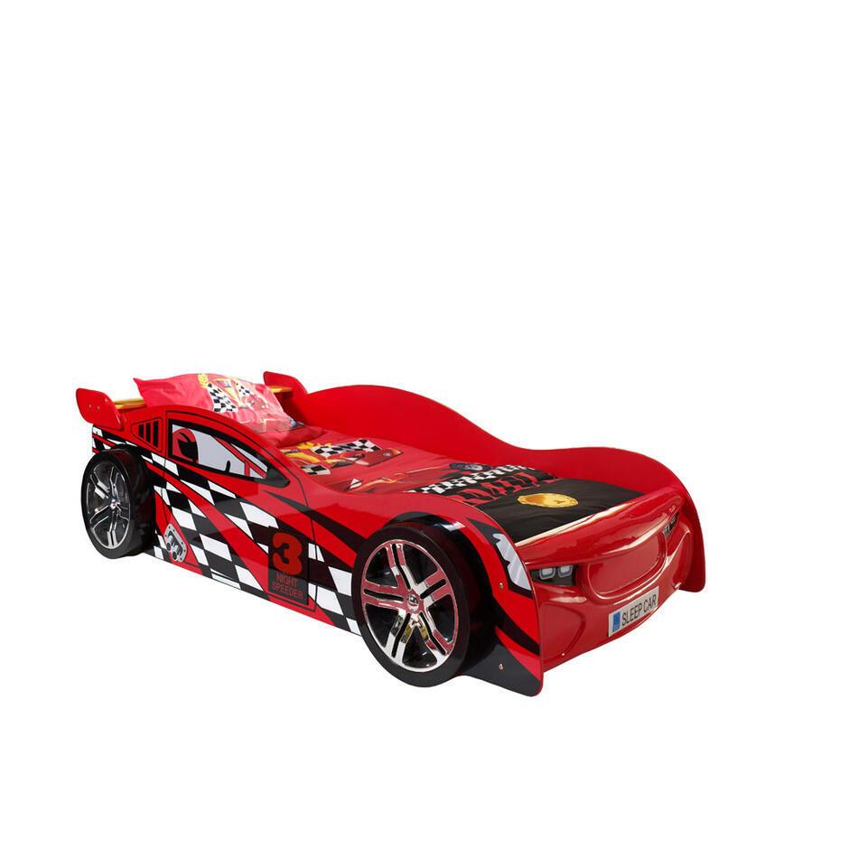 Vipack autobed Night Speeder - rood