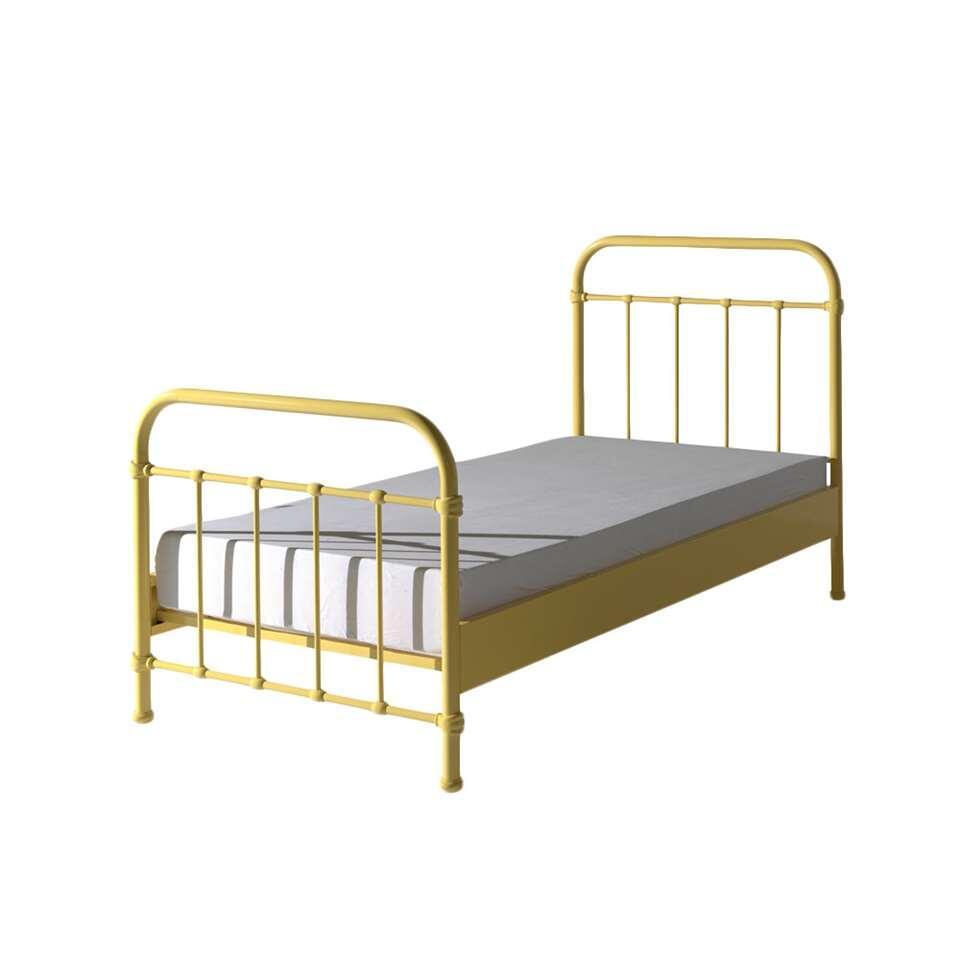Vipack bed New York - geel - 90x200 cm