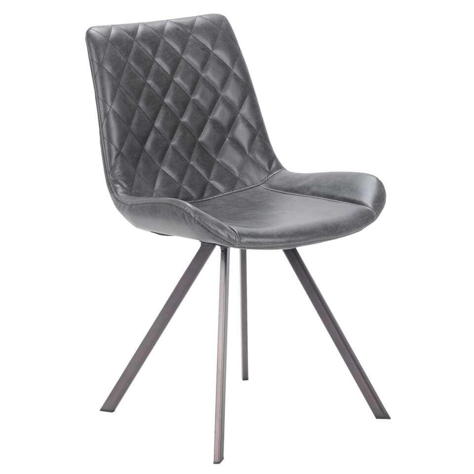 chaise soren ska noire le lot de 2. Black Bedroom Furniture Sets. Home Design Ideas