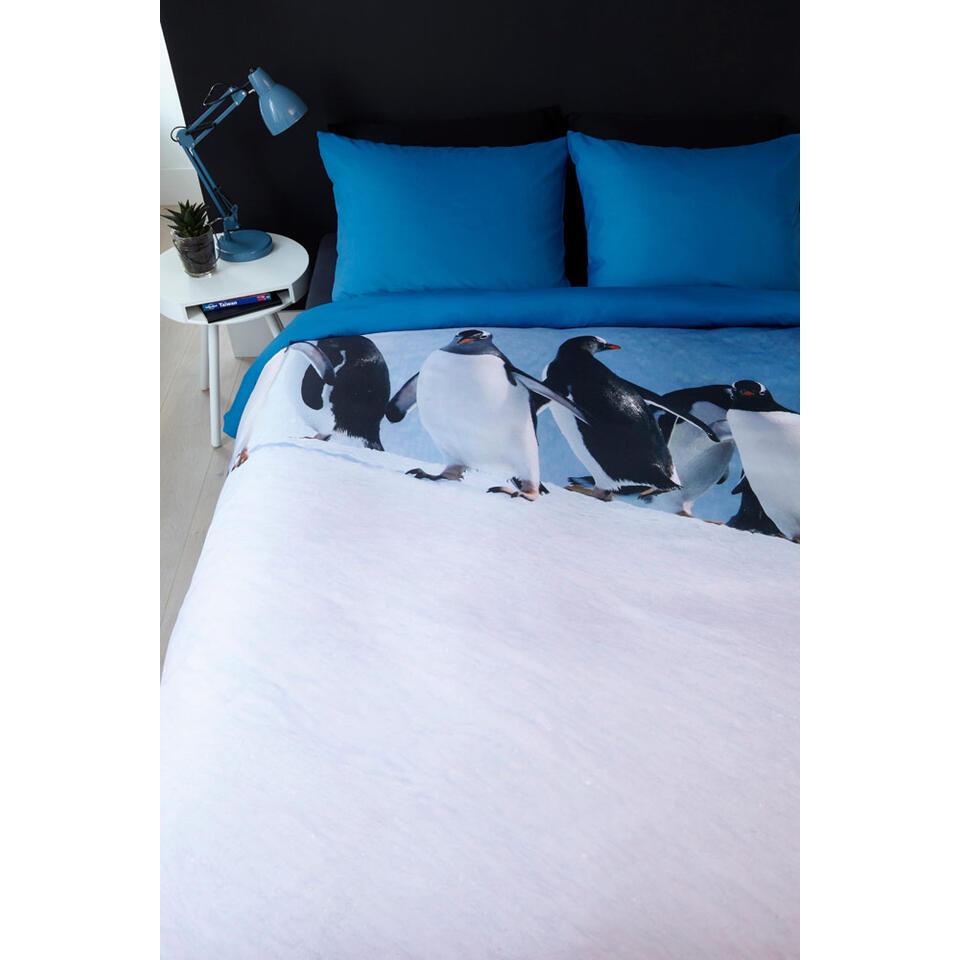Ambiante parure de couette Penguins - 140x200/220 cm