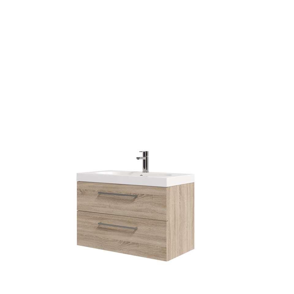 bruynzeel meuble de salle de bains luca beige 80 cm. Black Bedroom Furniture Sets. Home Design Ideas