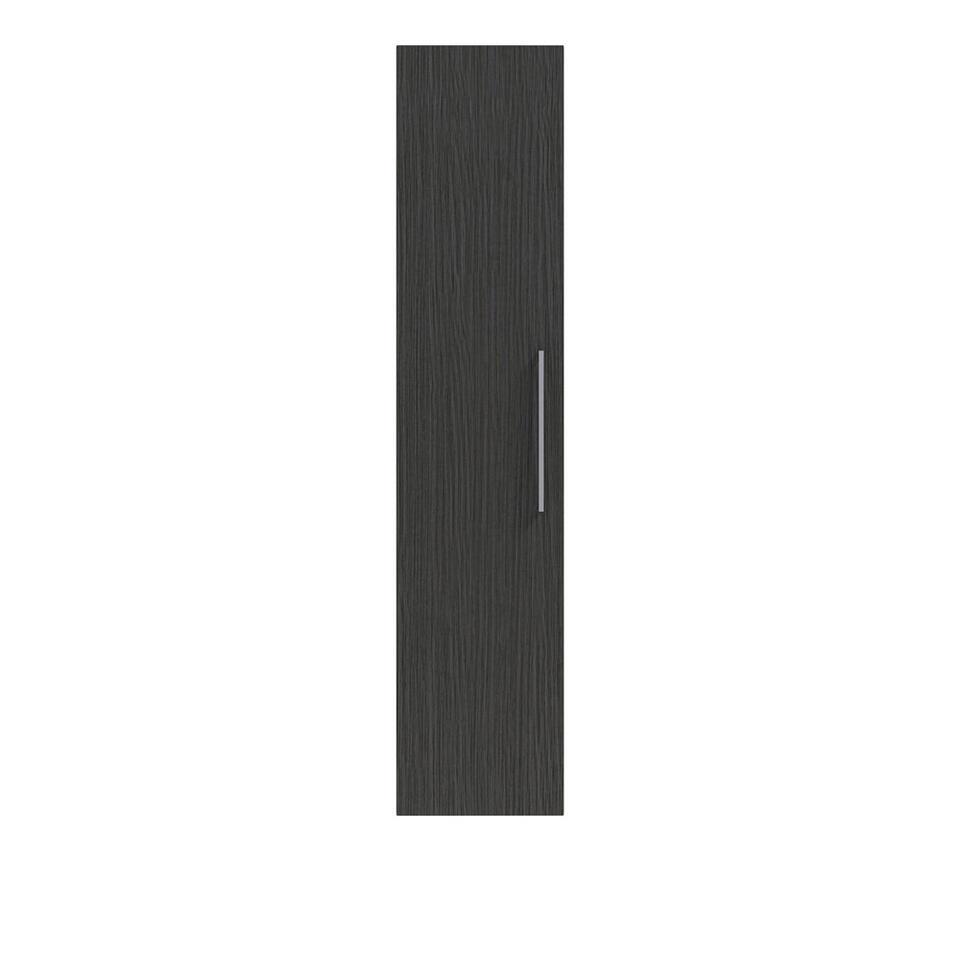 Bruynzeel colonne Luca - noire - 160x35x35 cm