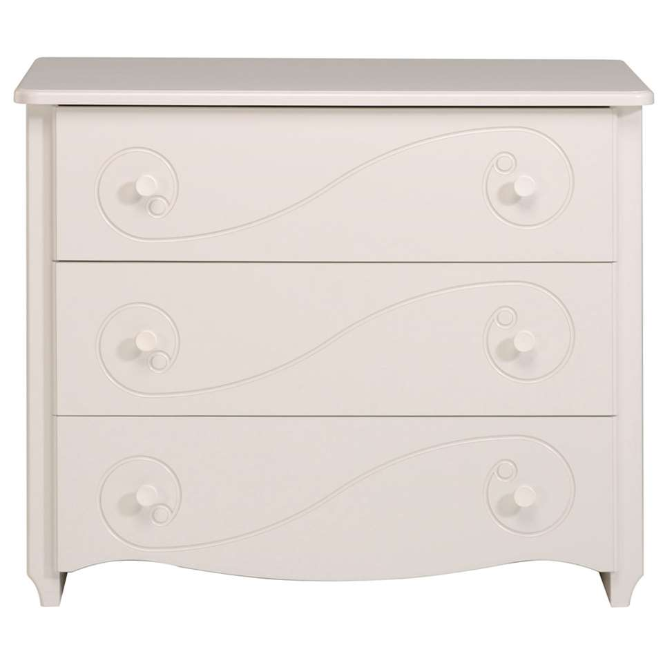 Commode Lilly - blanc 98x82x49 cm