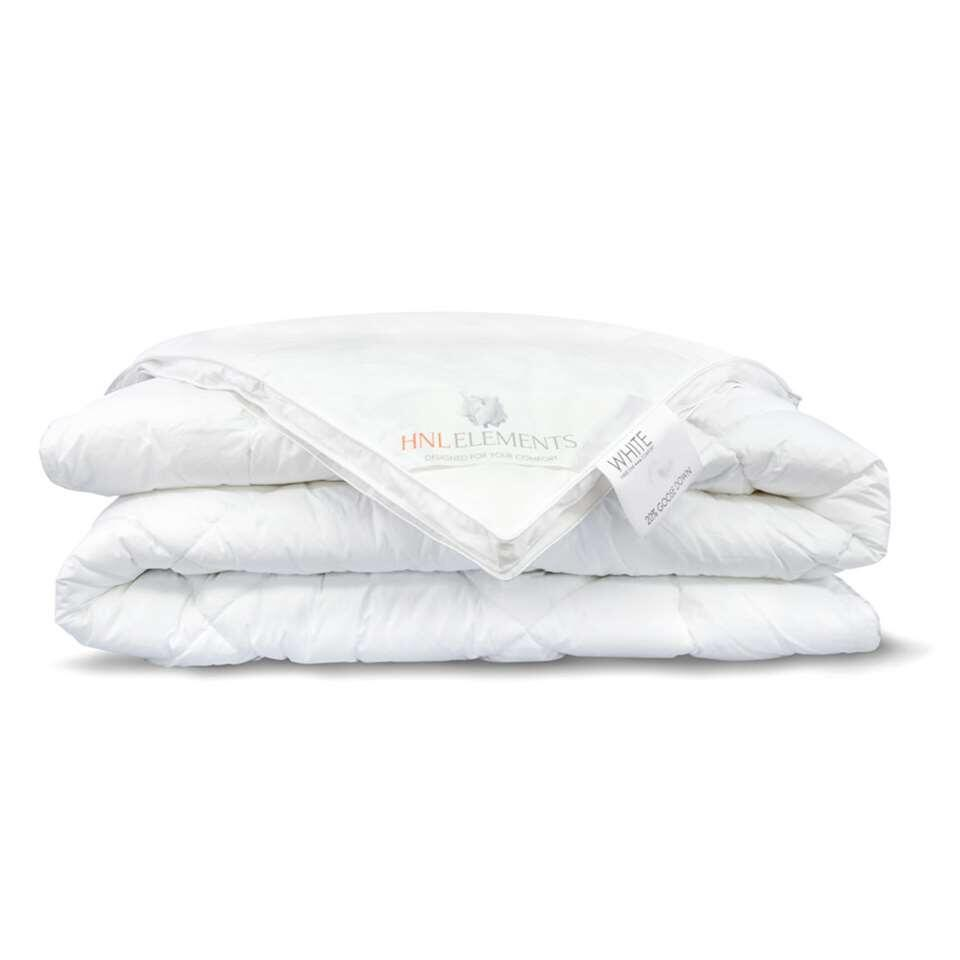 Heckett & Lane couette 4 saisons White Label - 20% duvet de canard - 200x200 cm