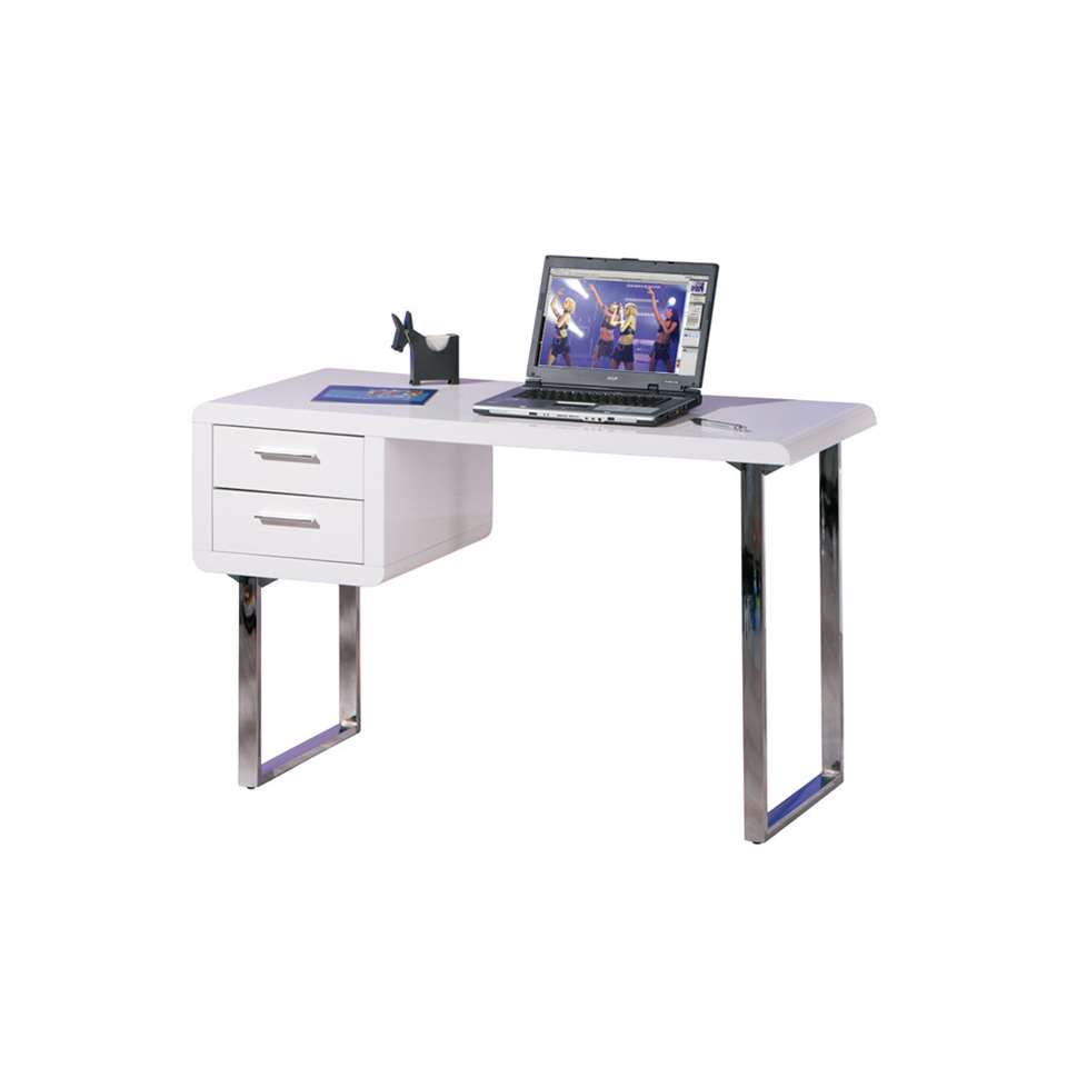 Bureau Claude - wit - 76x120x55 cm