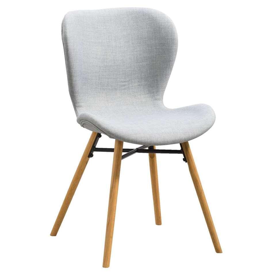 chaise de salle 224 manger helgum gris clair 2 pi232ces
