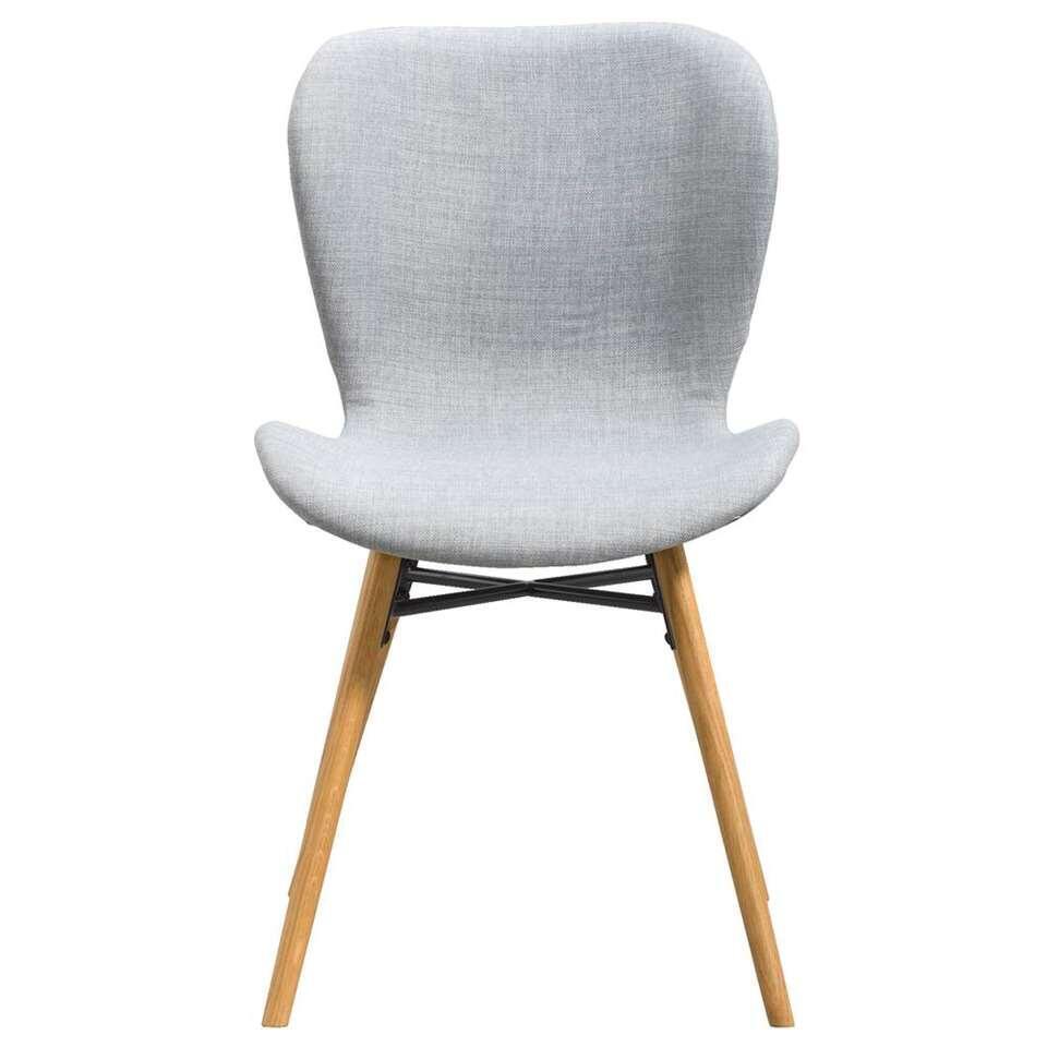 Chaise de salle à manger Helgum - gris clair (2 pièces)