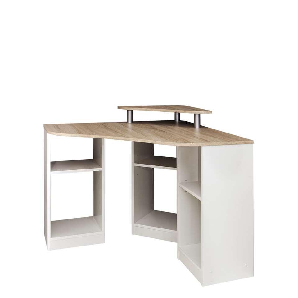 symbiosis bureau vihalsen blanc couleur ch ne 81 8x94x94 cm. Black Bedroom Furniture Sets. Home Design Ideas